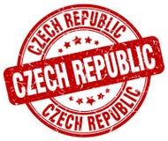 Republika Czech znaczek royalty ilustracja