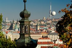 republika czeska Prague miasta. Fotografia Royalty Free
