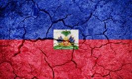 Republika Haiti flaga Obraz Royalty Free