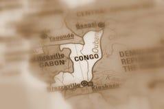 Republika Kongo obraz stock