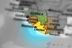 Republika Liberia zdjęcia stock