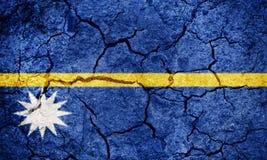 Republika Nauru flaga fotografia stock
