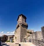Republika San Marino wewnętrzny ogród Guaita wierza, Rocca Obrazy Royalty Free