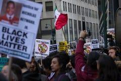 2016 Republikańskich galówek atutów Protestuje NYC Obrazy Stock