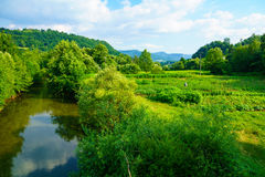 Republika Srpska Landscape Royalty Free Stock Photography