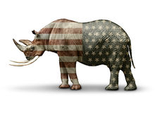 Republikaner nur dem Namen nach Stockfoto