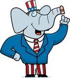 Republikanischer Elefant Lizenzfreies Stockfoto
