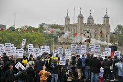 Republikanizm manifestacja Zdjęcia Royalty Free