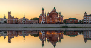 Republikansk dockateater Yoshkar-Ola stad Ryssland arkivfoton