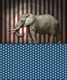 Republikansk elefant Fotografering för Bildbyråer