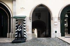 Republikansk nationell vakt, Lissabon, Portugal royaltyfria bilder