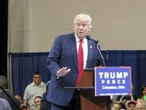2016 republikanska presidents- kandidat, Donald J trumf Fotografering för Bildbyråer
