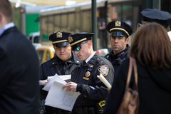 2016 republikanska stor festAnti--trumf protesterar NYC Arkivfoto