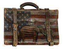 Republikanskt politiskt bagage royaltyfri bild
