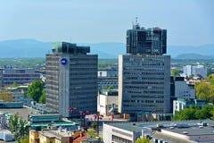 Republike Trg, Ljubljana Royaltyfri Foto