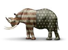 Republikein in slechts Naam Stock Foto