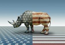 Republikein in slechts Naam Stock Afbeeldingen