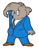 Republikeinse hoofdpijn, politieke ramp Stock Afbeelding