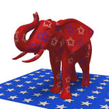 Republikeinse olifant Stock Foto's