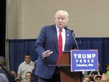 2016 Republikeinse Presidentiële Benoemde, de Troef van Donald J Stock Afbeelding