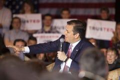 Republikeinse Presidentiële Kandidaat Ted Cruz Stock Afbeeldingen
