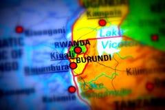 Republiken Burundi royaltyfri foto
