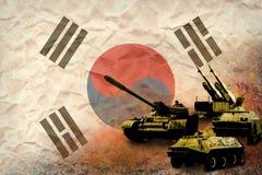 Republiken Korea Sydkorea armé, krigsmakter Arkivfoto