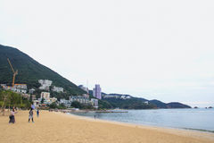 Repulse Bay, is a bay in the southern part of Hong Kong Island and nearly Kwun Yim Shrine is a Taoist shrine . Stock Images