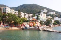 Repulse Bay beach in Hong Kong Royalty Free Stock Photography