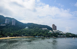 Repulse Bay beach in Hong Kong Stock Photography