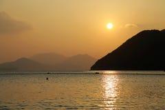 Repulse Bay beach. In Hong Kong, China Royalty Free Stock Photos
