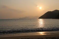 Repulse Bay beach. In Hong Kong, China Stock Photos