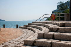 Repulse Bay Beach Seaview Shelter Royalty Free Stock Photography