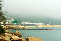 The Repulse Bay in fog Royalty Free Stock Photos