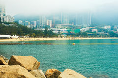 Repulse Bay in fog Stock Photo