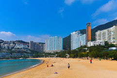 Repulse bay, hong kong. Repulse bay is a beautiful and quiet beach located in the south part of hong kong island Stock Photos