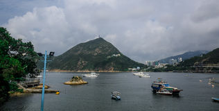 Repulse Bay landscape in Hong Kong Royalty Free Stock Photography