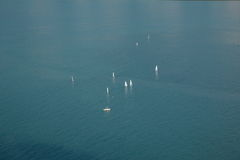 Repulse Bay Sailing Competition Royalty Free Stock Photography