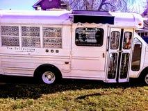 Repurposed autobus obraz stock