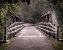 Repurposed Railroad Bridge Royalty Free Stock Images