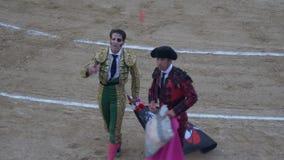 REQUENA, ИСПАНИЯ - 2-ОЕ СЕНТЯБРЯ 2017: Арена, Juan Jose Padilla