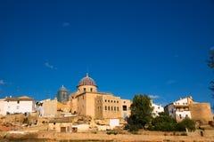 Requena i det Valencia landskapet en vinregion av Spanien royaltyfri fotografi