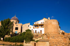 Requena in Valencia province a wine region of Spain Stock Image