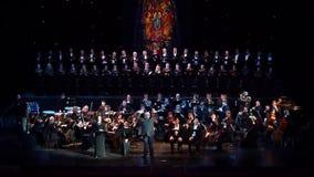 Requiem door Verdi stock video