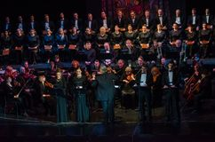 Requiem by Mozart stock image
