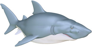 Requin illustration de vecteur
