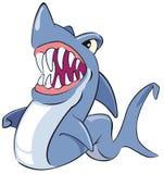 Requin bleu Image libre de droits