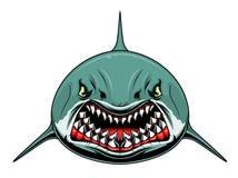 Requin effrayant illustration de vecteur