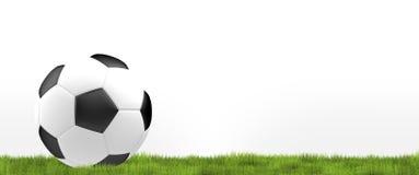 Requisito del balompié ball El fútbol 3d del fútbol rinde diseño de la bola Fotos de archivo libres de regalías
