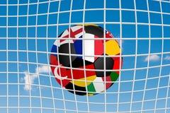 Requisito di gioco del calcio ball Fotografia Stock Libera da Diritti